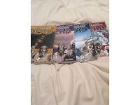 Walking dead comic books