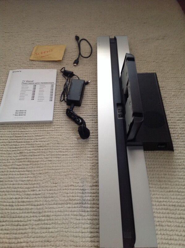 sony tv stand. sony tv stand / sound bar su-b401s tv