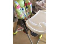 Chicco Polly Highchair in very good condition