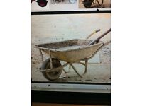 Looking for an old wheel barrow