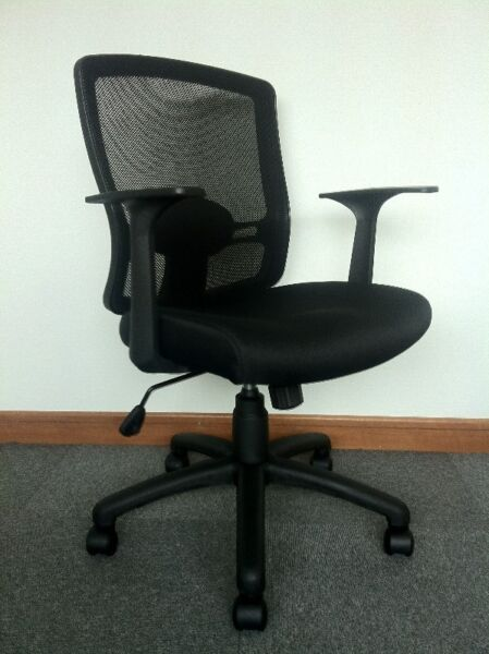 Low Mesh Back Chair