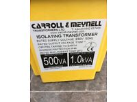 Transformer 1KVA (brand new boxed) Can Deliver