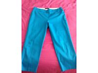 New, M&S Collection, size 12 cropped trousers.