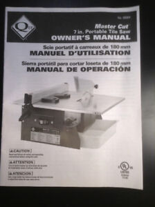 7-Inch Table Top Wet Tile Saw