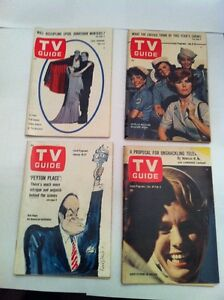 THIRTY TV GUIDE'S FROM 1964