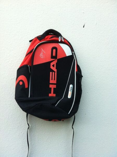 Head Andy Murray haversack. Dimension 50 x 40 x 20cm.