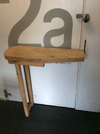 Solid breakfast bar/ standing desk FREE TO COLLECTOR. HOVE