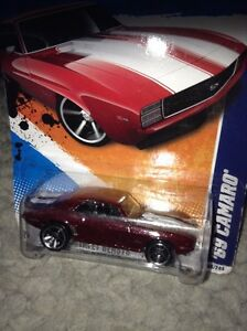 1969 Camaro dinky car or die cast