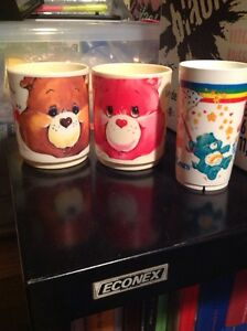 Care Bears and smurfs childrens cups  London Ontario image 1
