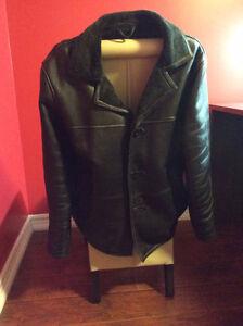 Manteau cuir