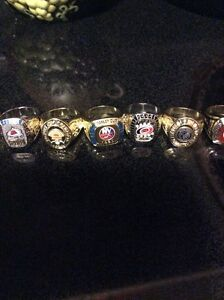 NHL  collectable hockey rings contact if interested  St. John's Newfoundland image 3