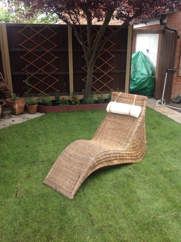 Ikea Wicker Lounger Chair In Caister On Sea Norfolk Gumtree