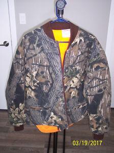 Camo/Orange reversible Jacket