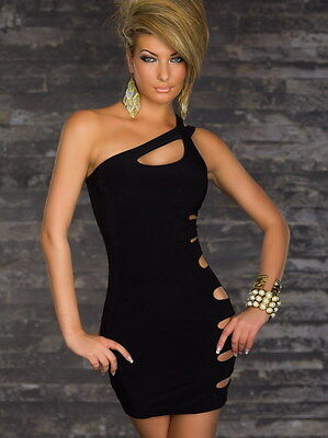 women's sexy black sleeveless cocktail mini dress party clubwear evening dress  on Rummage