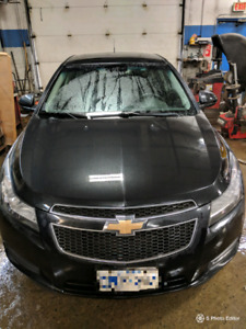 CERTIFIED 2012 Chevy Cruze LT2 6speed manual with turbo and sunr