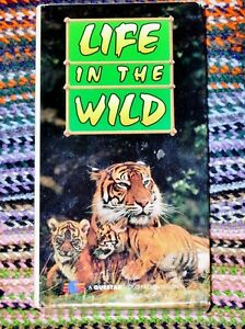 Life In The Wild Questar VHS 1984 (Two Volume Set)