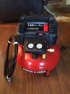 Compresseur Porter Cable 2HP 6 Gallons