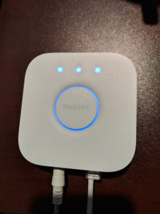 Philips Hue Bridge w/ white and color light bulb GU10