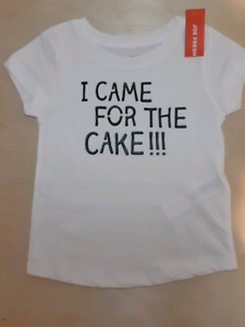 I came for the cake!! For toddler