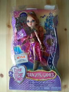 Ever After High Holly O`Haire Dragon Games doll