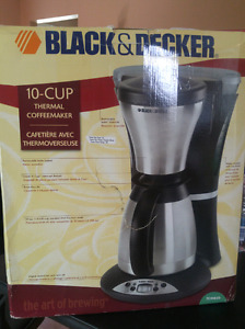 Black and Decker 10 cup thermal coffeemaker