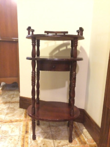 Telephone and Utility Stand/Table With Drawer