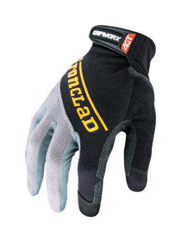 Ironclad Gripworx Glove Silicone-fused Black Medium  Bgw-03-m