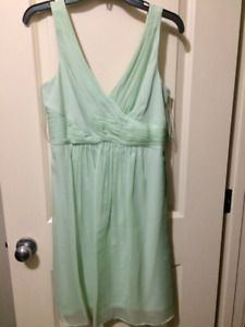 Brand new with tags sz 8 green dress