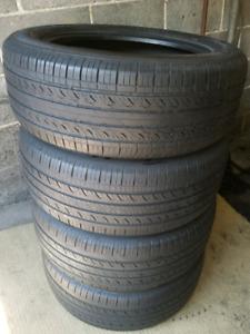 4 pneus d'été 205/55/r16 Hankook vente rapide