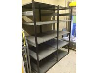 Garage / commercial shelving 8ft tall X 6ft wide X 3ft deep