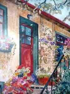 """Art Studio Colors by Imke Pearson """"The Red Door"""" 1980's Stratford Kitchener Area image 9"""