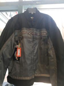 Brand new Lrg Harley Davidson motorcycle jacket