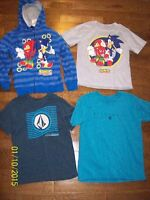 Boys Tees and Sweater, Size 6
