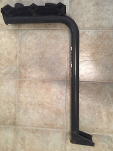 Sportrack hitch bike rack (holds 3) with lock