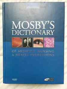 Mosby's Dictionary of Medicine, Nursing & Health Professions 8ED