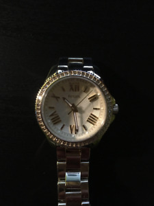 FOSSIL Cecile Champagne Dial Gold Steel Ladies Watch