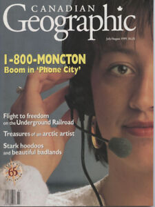 Canadian Geographic Magazine 36 Back Issues
