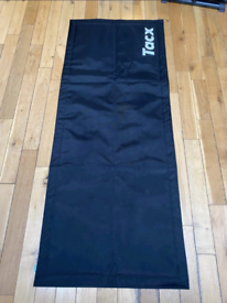 Tacx Rollable Turbo Trainer Mat Black