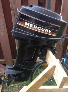 18hp Mercury outboard motor