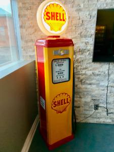 Classic Gas Pump Vintage Reproduction