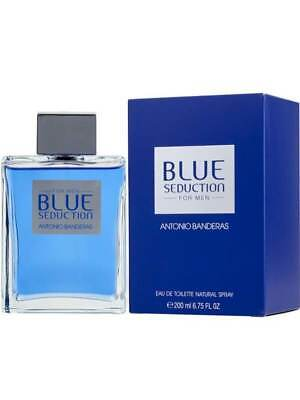 ANTONIO BANDERAS BLUE SEDUCTION 200ML EAU DE TOILETTE SPRAY BRAND NEW & SEALED
