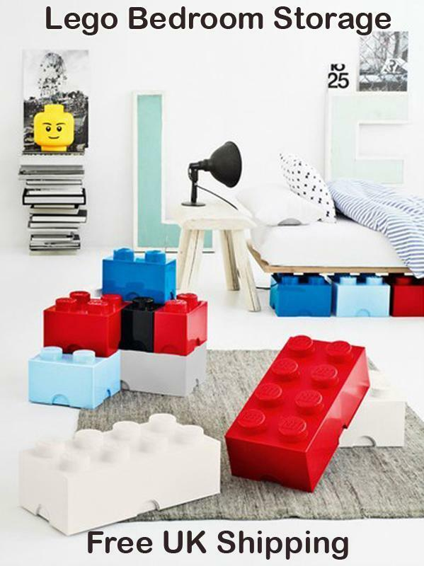 Lego Bedroom Ideas Uk lego bedroom storage, storage heads & giant bricks (free