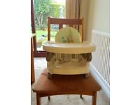 Baby travel booster seat/ high chair