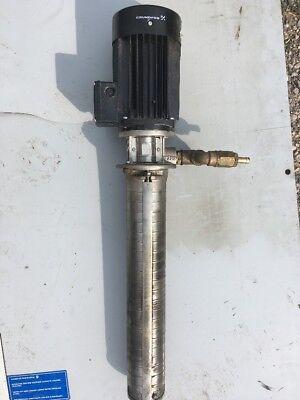 Charmilles Edm Grundfos Filter Pump Jsw