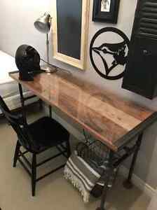 INDUSTRIAL MODERN PIPE DESK