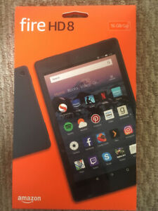 "**BRAND NEW, UNOPENED** Amazon Fire HD 8 - 16GB 8"" tablet"