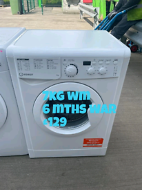 Indesit 7kg washing machine free delivery in Nottingham