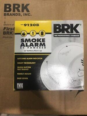 6 PACK BRK 9120B First Alert Smoke Alarm Detector Battery Backup 120V HARDWIRED