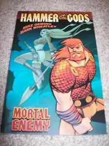 HAMMER OF THE GODS VOLUME ONE: MORTAL ENEMY TRADE PAPERBACK TPB