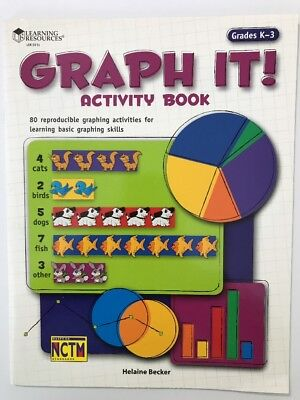 Graph It! 80 Reproducible Graphing Activities Grades K-3 Based OnNCTM Standards](Graphing Activities)